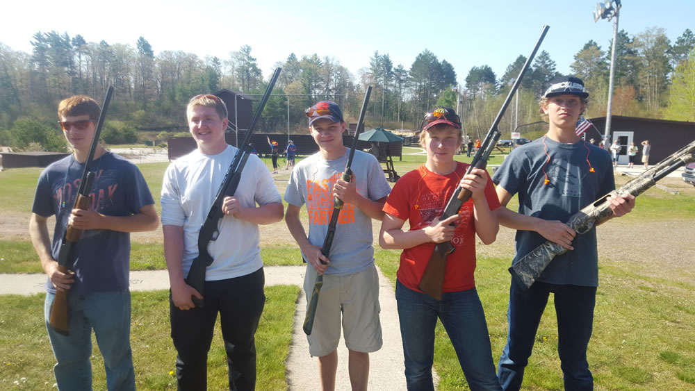 Mercer High School Trap Team